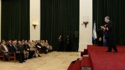 Anfiteatro Libertador General San Martín, donde funcionará el Consejo de Guerra