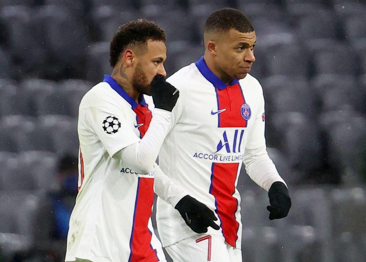 La dupla Neymar-Mbappé busca ganar la Champions League por primera vez en la historia del PSG (Reuters)