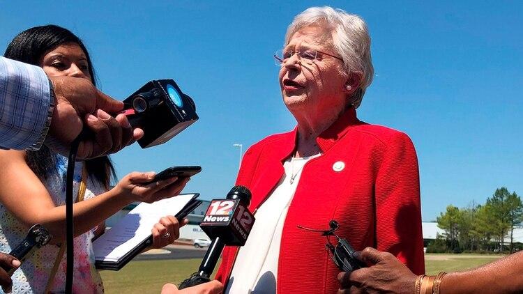 Kay Ivey, gobernadora de Alabama (AP)