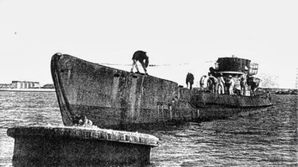 El U-530 se rindió en Mar del Plata el 10 de julio de 1945