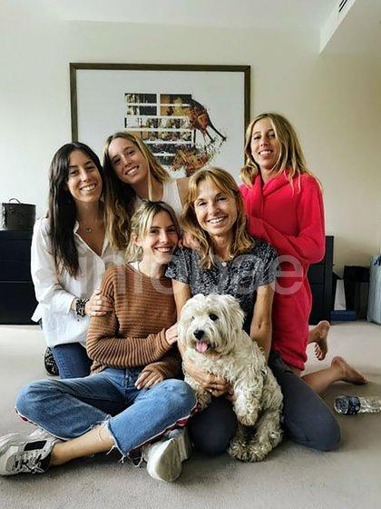 Graciela y sus hijas