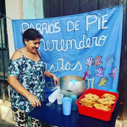 Carmen Canaviri tenía 56 años, era militante social y referente de un comedor en el Barrio 1-11-14