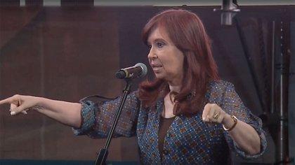 Cristina Kirchner en Avellaneda (Foto: Frente de Todos)