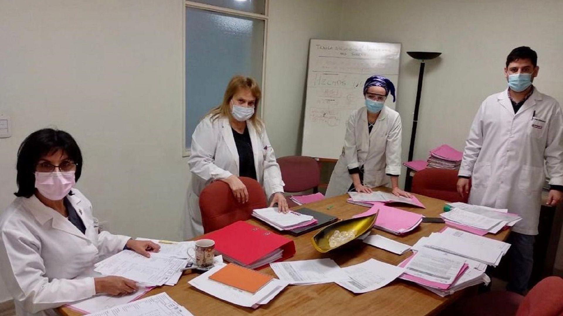Investigadores de la UBA - COVID-19