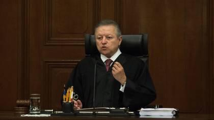 Zaldívar, presidente de la SCJN, fue uno de los más duros contra la Ley Bonilla, de la que concluyó es a todas luces anticonstitucional (Foto: Cuartoscuro)