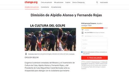 Juntan firmas para exigir la dimisión del ministro de Cultura cubano