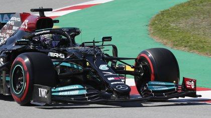 Histórica clasificación de la Fórmula 1: Lewis Hamilton logró su pole número 100 en el Gran Premio de España