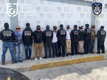 Los Molina son un grupo con bajo perfil que opera al sur de la capital y en municipios del Estado de México (Foto: FiscalíaCDMX)