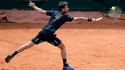 Lóndero sigue mostrando su buen nivel y avanzó a la tercera ronda del segundo Grand Slam de la temporada (AP)