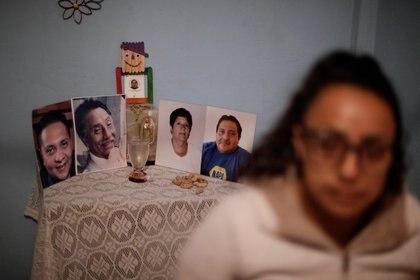 Wendolin García logró recuperarse de coronavirus, sin embargo su esposo, cuñado y suegros no lo lograron y fallecieron Foto: (REUTERS/Luis Cortes)
