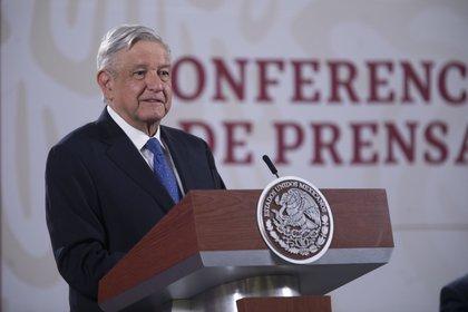El presidente López Obrador asegura que la economía mexicana ya tocó fondo y comienza la recuperación (Foto: Presidencia de México