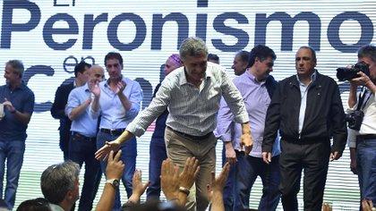 """Macri hizo alusión al kirchnerismo pero sin nombrarlo. """"No va más el país de la ventajita"""", indicó (Télam)"""