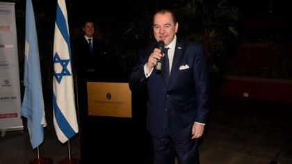 El presidente de la Cámara de Comercio Argentino Israelí, Mario Montoto