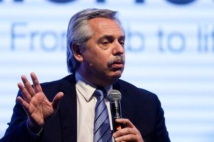 En la imagen, el presidente de Argentina, Alberto Fernández (EFE/Juan Ignacio Roncoroni/Archivo)