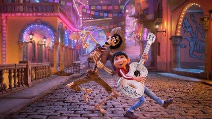 """Fotograma de la película """"Coco"""" (Pixar)"""