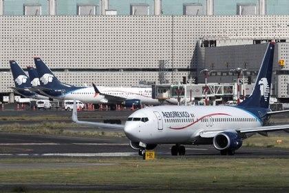 Aeroméxico anunció su quiebre y método de refinanciación (Foto: Reuters / Henry Romero)