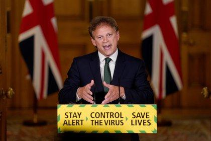 Grant Shapps, ministro de transporte del Reino Unido
