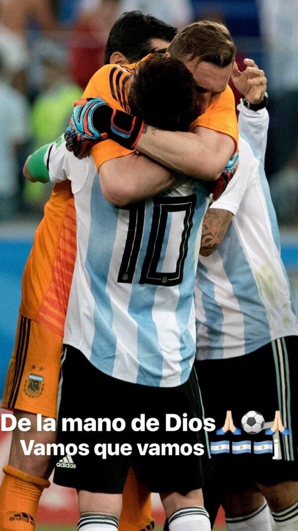 El mensaje de aliento de Daniela Rendón a la Selección