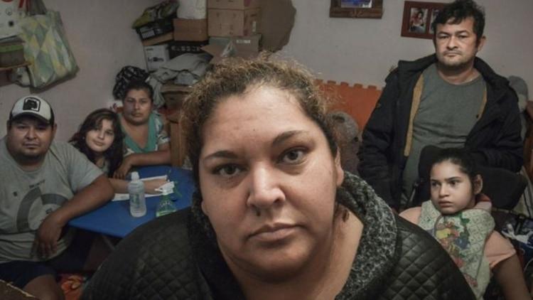 Ramona Medina, referente de la Villa 31. Protestó por la falta de agua en el barrio y murió días después en el hospital Muñiz.