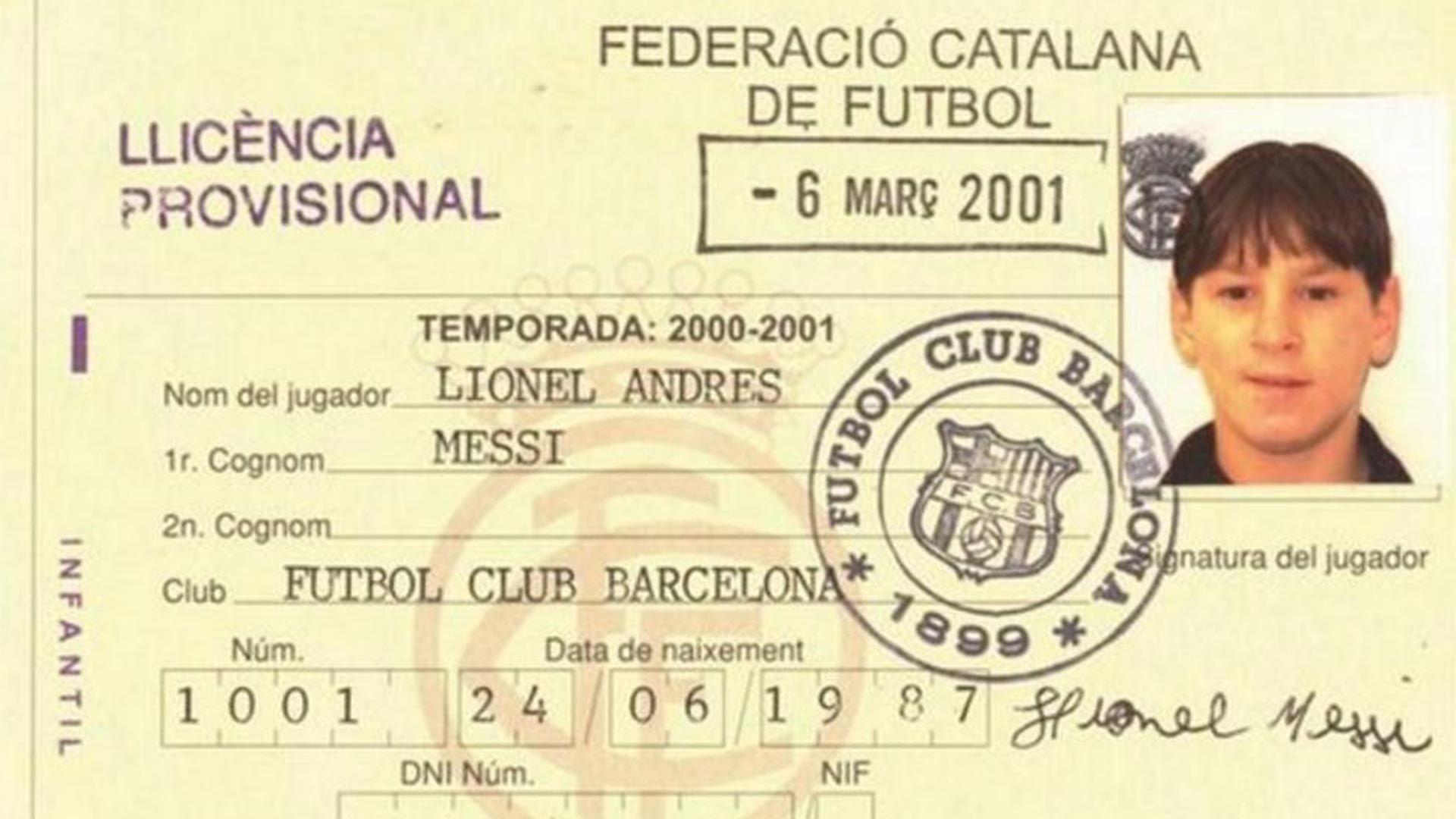 Messi ficha en Barcelona