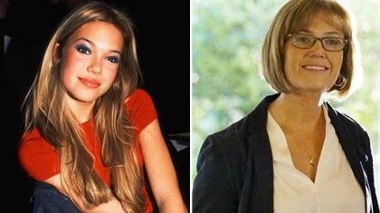 Mandy Moore en su adolescencia y en su papel de Rebecca en This is Us