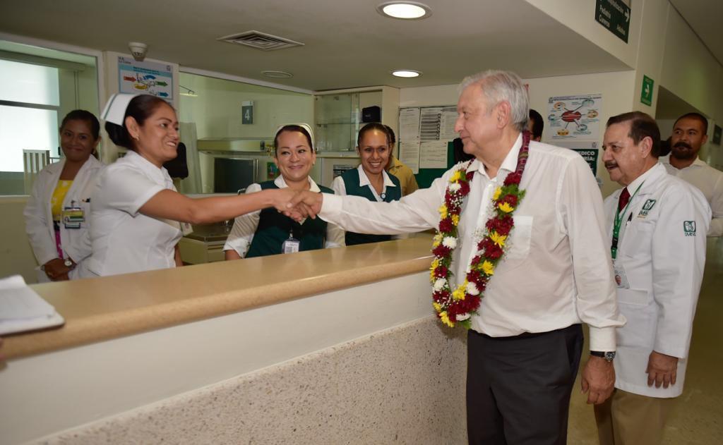 El presidente López Obrador realiza giras de salud por diversos estados del país (Foto: Cortesía Presidencia)