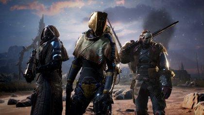 Outrides será uno de los juegos que llegará en 2021 a las plataformas Xbox (Square Enix/People Can Fly)