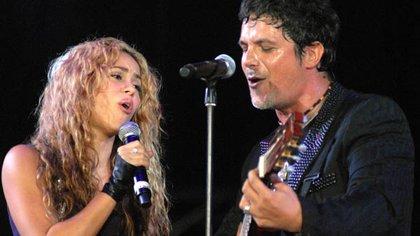 Shakira fue videograba por Alejandro Sanz en conversaciones donde trataron desde la sensualidad, hasta dedicarse canciones (Foto: Archivo)