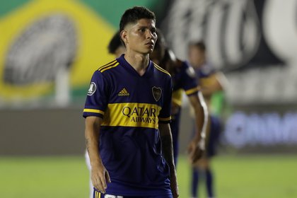Jorman Campuzano de Boca Juniors .