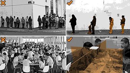 Imágenes de cómo será la nueva normalidad tras el COVID-19 (Foto: Jovani Pérez)