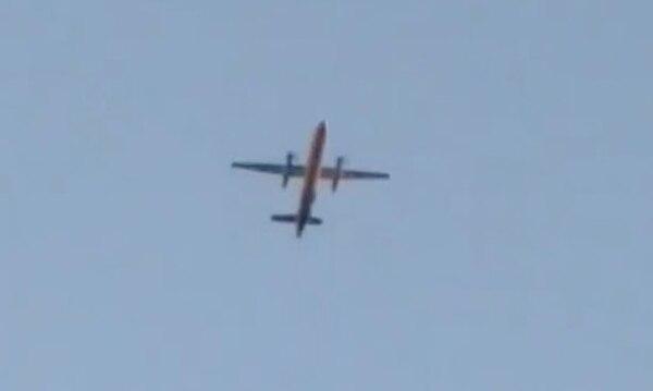 Foto tomada del avión