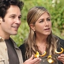 Jennifer Aniston y Paul Rudd (Shutterstock)