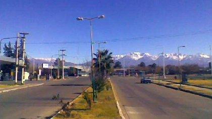 El hecho ocurrió en Eugenio Bustos, perteneciente al departamento de San Carlos, Mendoza