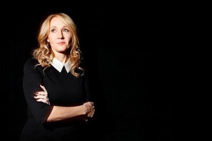 J.K. Rowling poses  (REUTERS/Carlo Allegri)