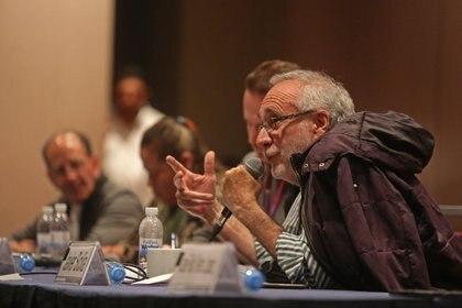 El poerta y activista, Javier Sicilia, expresó por qué seguirá realizando manifestaciones en el país. (Foto: Cuartoscuro)