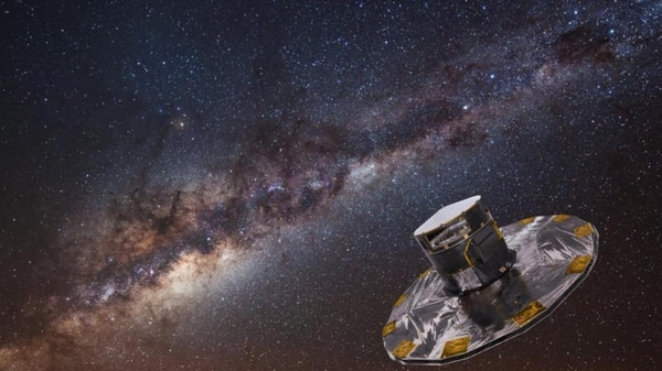 Immagine:ESA/ATG medialab; background: ESO/S. Brunier