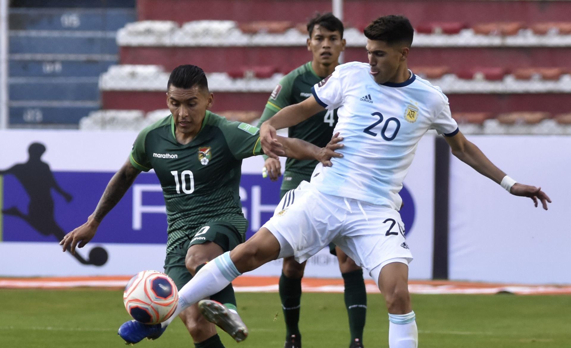 argentina vs bolivia eliminatorias