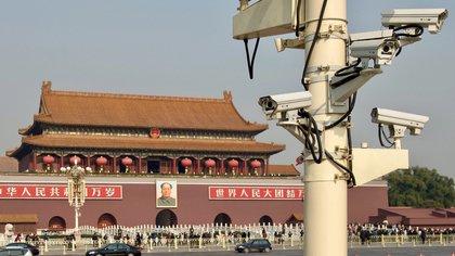 Las cámaras de seguridad están diseminadas por toda China