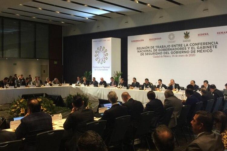 La Conago refrendo el compromiso de trabajar en conjunto por el desarrollo integral del país (Foto: Twitter)