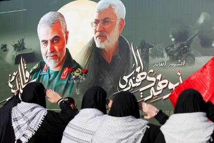 Foto de quien fuera el general más importante del régimen iraní, Qassem Soleimani. Foto: REUTERS/Wissam al-Okaili