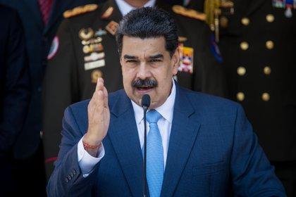 El dictador venezolano Nicolás Maduro (EFE/MIGUEL GUTIERREZ)