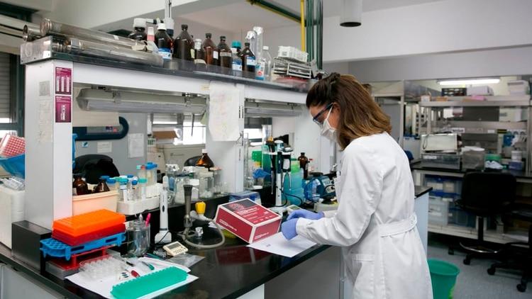 El laboratorio del Instituto de Ciencia y Tecnología César Milstein (ICT Milstein, CONICET-Fundación Pablo Cassará) (MinCyT)
