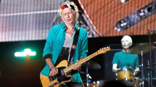 Keith Richards, el lado salvaje de los Rolling Stones (Reuters)