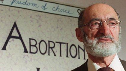 """""""Toda madre, una madre con deseo; todo hijo, un hijo querido"""", era el lema de Morgentaler"""