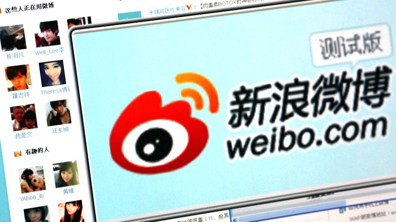 Weibo es la red social más popular de China. (Reuters)