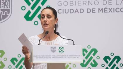 Claudia Sheinbaum anunció la aplicación para consultar los datos de los conductores en julio(Foto: Cuartoscuro)