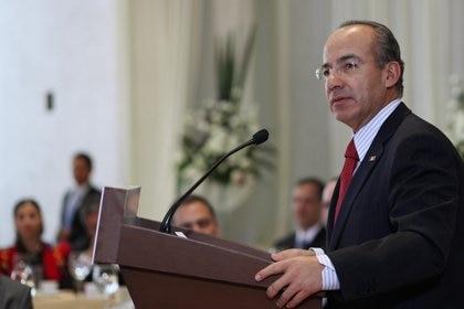 15/03/2011 El presidente mexicano, Felipe Calderón.  POLITICA MÉXICO INTERNACIONAL LATINOAMÉRICA  EUROPA PRESS/PRESIDENCIA DE MÉXICO