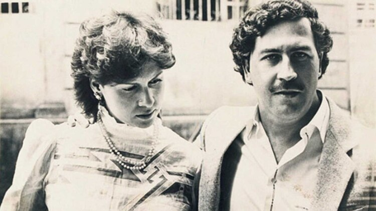 Pablo Escobar y su esposa, Victoria Henao