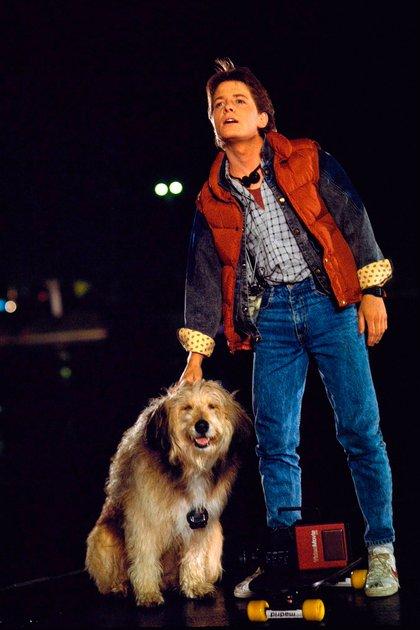 "Michael J Fox, en ""Volver al futuro I"""