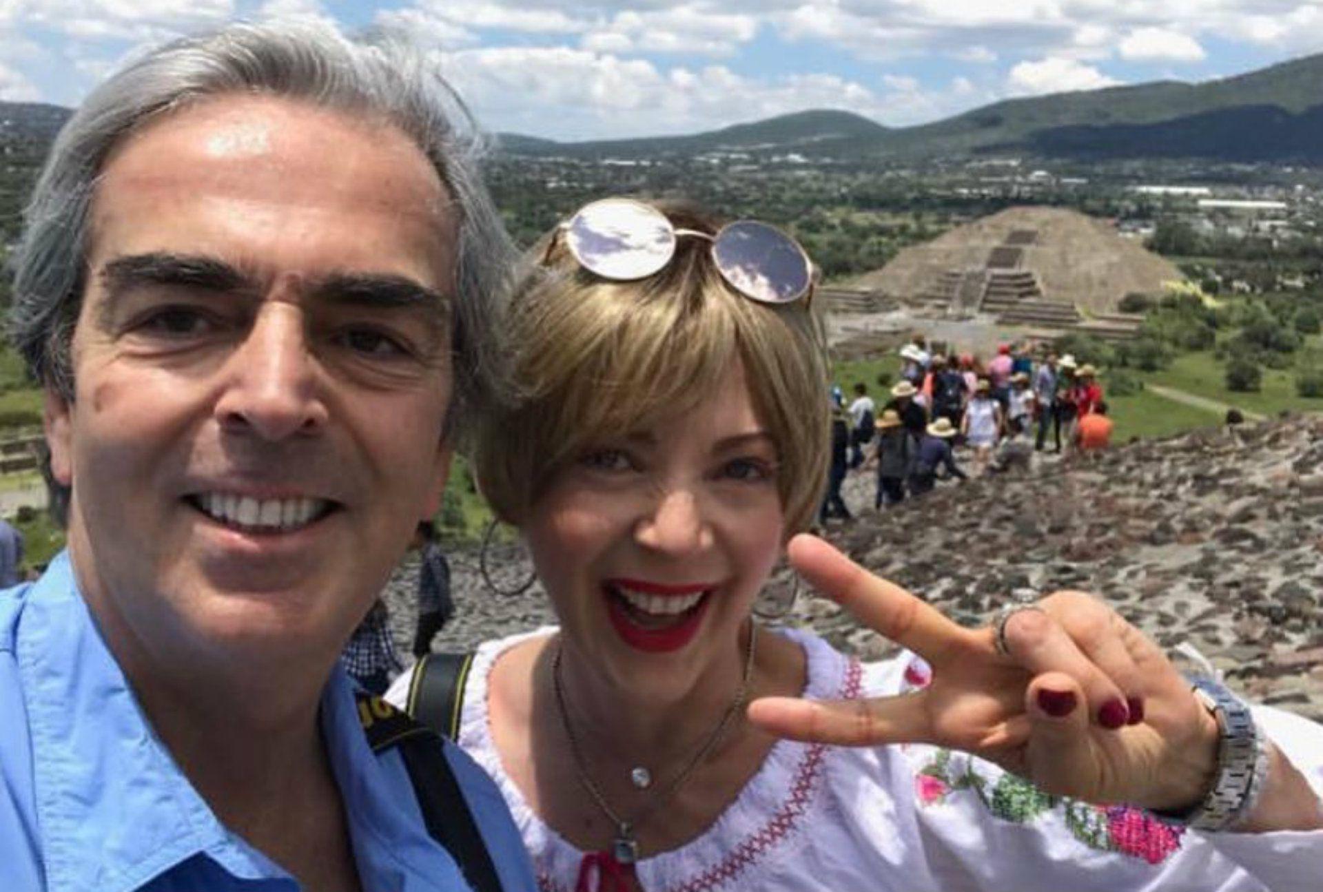 Lorenzo Lazo y Edith González se casaron en 2010 (Instagram)
